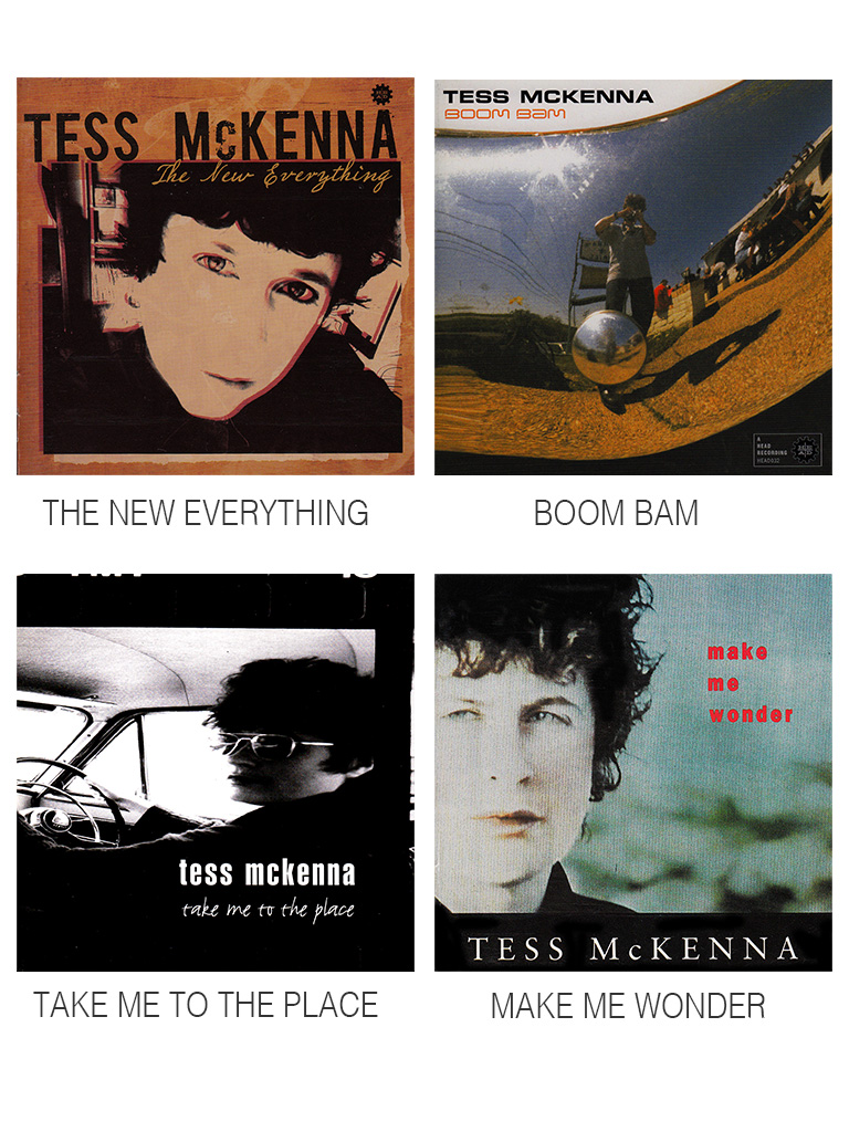 TESS MCKENNA ALBUM COVERS